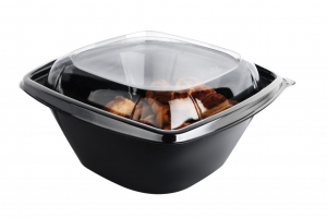 NEW!!! Salad Desert conused bowls with separate lids (1000 ml.)