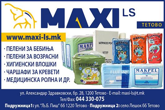 Maxi LS kolor peleni